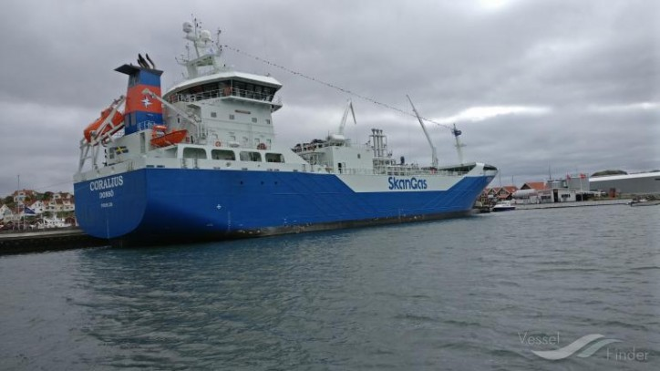 Alewijnse Marine completes electrical outfitting of unique LNG tanker Coralius