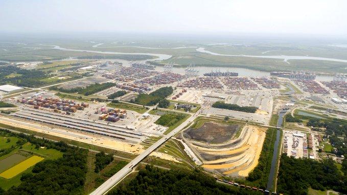 Intermodal Cargo Up 10.5% in Savannah