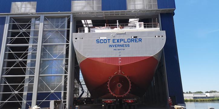 Scotline Marine Holdings Ltd orders third vessel from Royal Bodewes