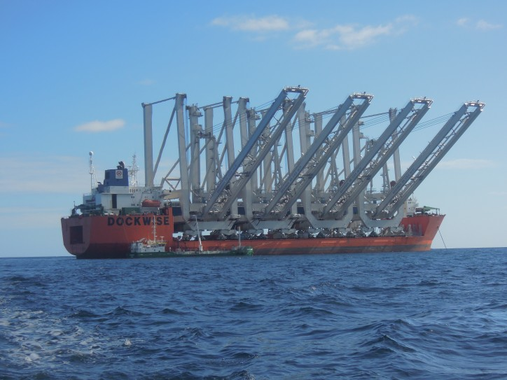 Armed Pirates Boarded Heavy Lift Vessel Teal at Conakry Anchorage