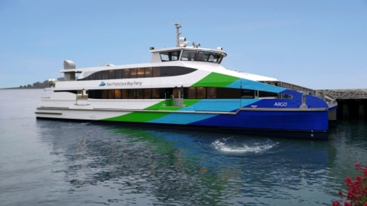 Vigor delivers third Hydrus class 400 passenger ferry to WETA
