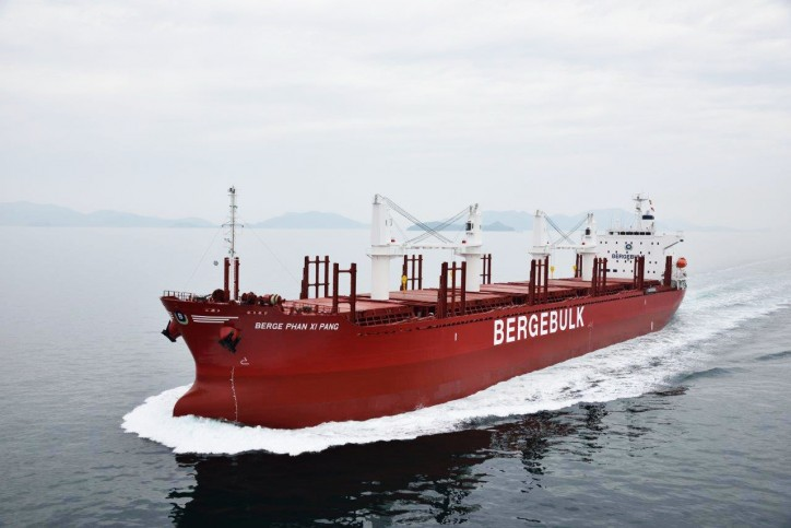 Berge Bulk welcomes Berge Phan Xi Pang to its fleet