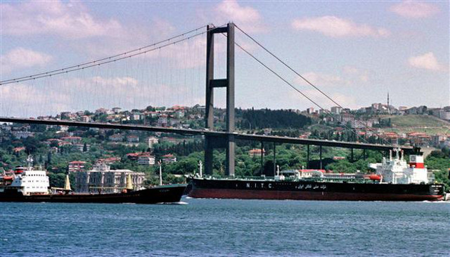 Istanbul to deploy drones to watch for ships dumping waste in Bosporus Strait