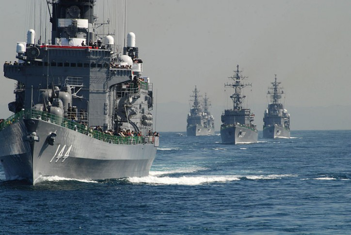 Japan, U.S., India agree to hold annual naval drills