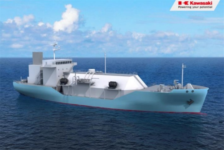 Japan's First LNG Bunkering Vessel to Start Operation in 2020