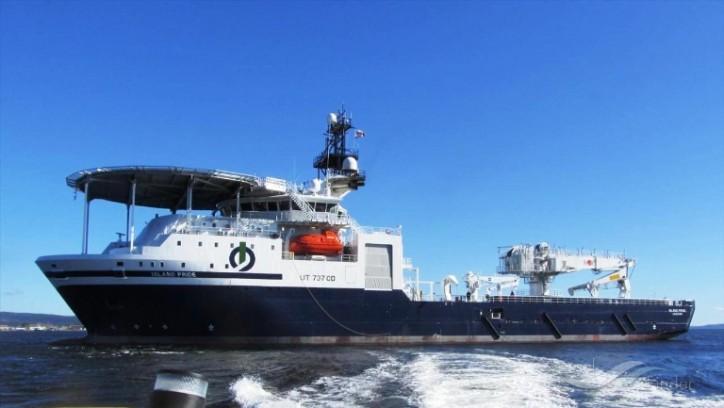 Ocean Infinity to charter Island Pride