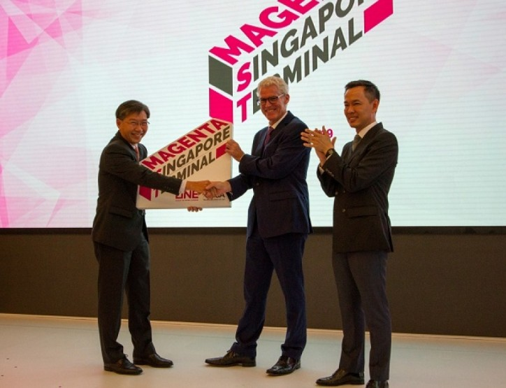 ONE Inaugurates Joint Venture Magenta Singapore Terminal with PSA Singapore