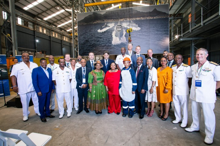 South Africa economy benefits from the building of new navy vessels