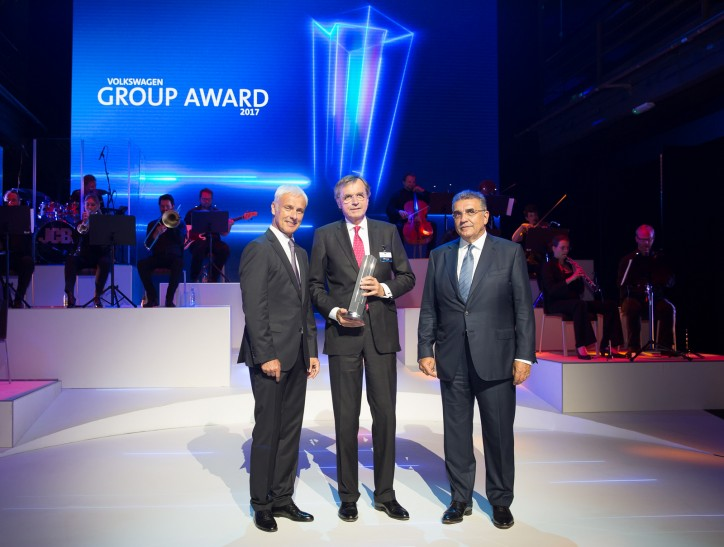 Hamburg Süd receives Volkswagen Group Award