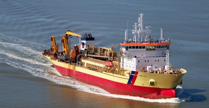 Alewijnse Marine begins ground-breaking electrical conversion on board TSHD Samuel de Champlain