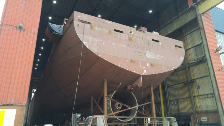 Scotline orders second newbuild with Royal Bodewes - mv Scot Explorer