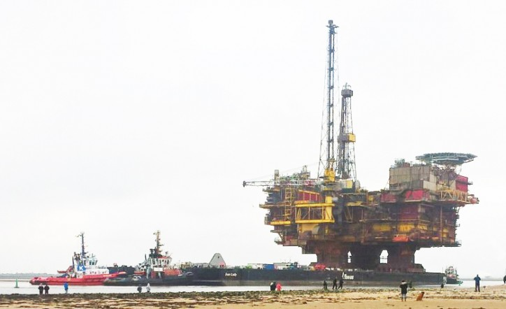 KOTUG assists AllSeas with transfer and transport Shell's