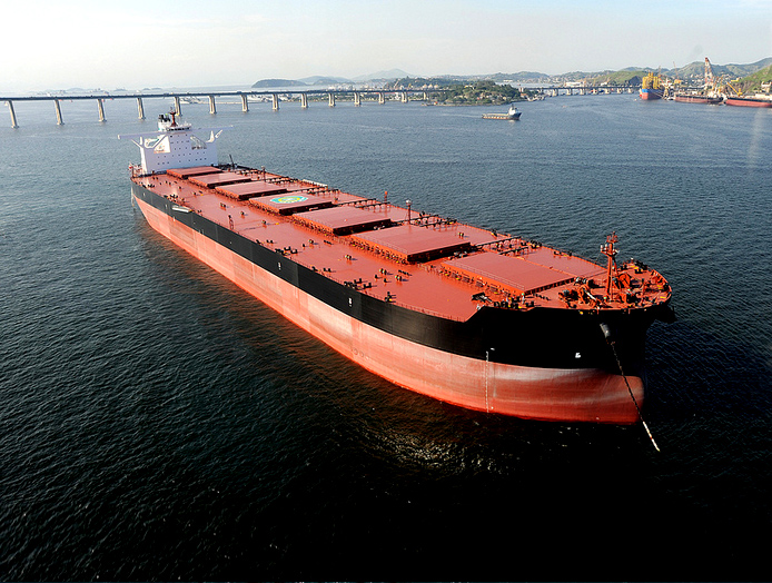 COSCOCS Inks 27-Year Ore Transport Deal with Vale