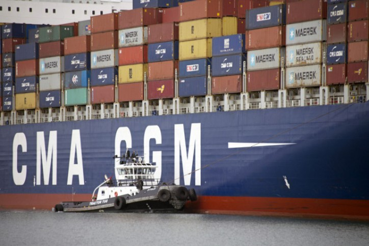 Seaspan Accepts Delivery Of 10000 TEU SAVER Containership - CMA CGM Mundra