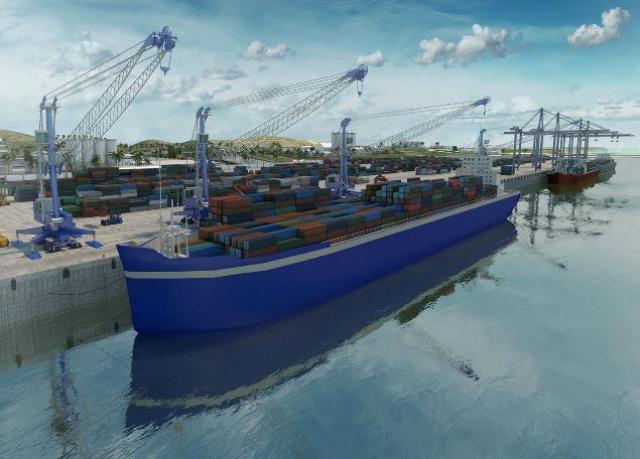 Haiti's First Panamax Port
