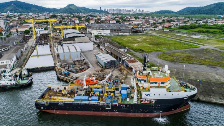 Damen and Wilson Sons complete shallow dive support vessel conversion in Brazil