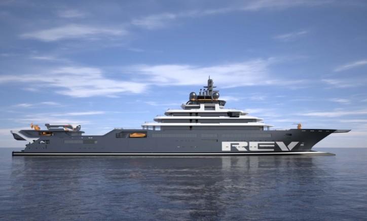 TMC to equip highly innovative 183 metre REV