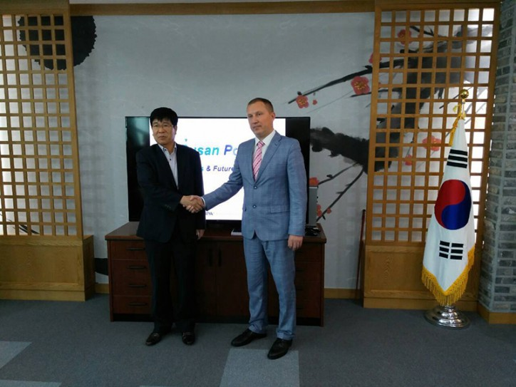 Ukrainian Sea Ports Authority and Busan Port Authority (Korea) have agreed on bilateral cooperation