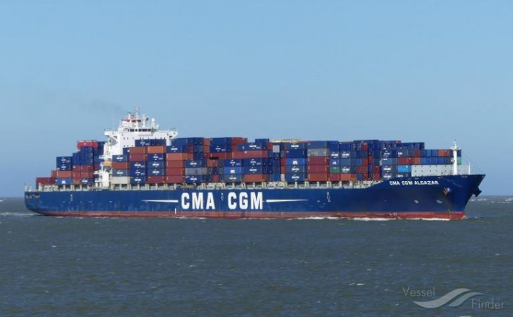US Coast Guard medevacs crewmember from container ship CMA CGM Alcazar near Galveston