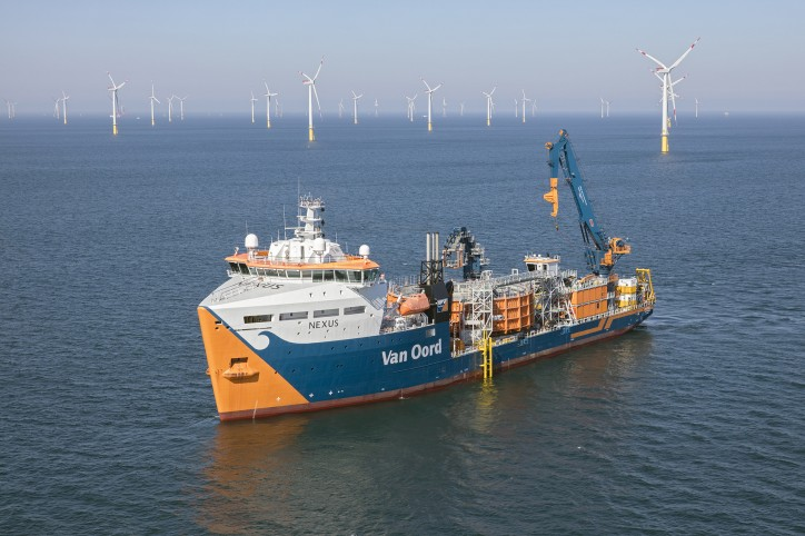 Ørsted contracts Van Oord for cable installation Borssele I & II