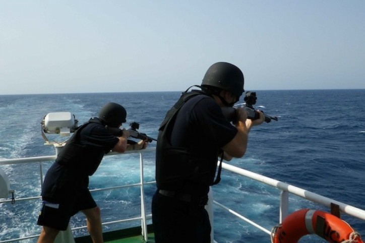 RI mulls deploying armed guards on ships