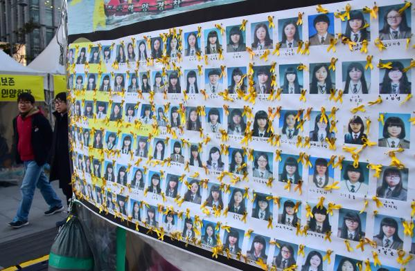 student victims of MV Sewol ferry disaster