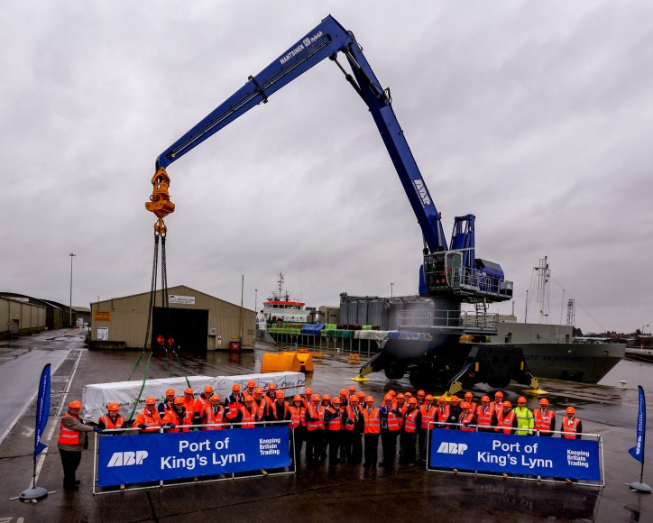 ABP Invests £3.3M At The Port Of King's Lynn