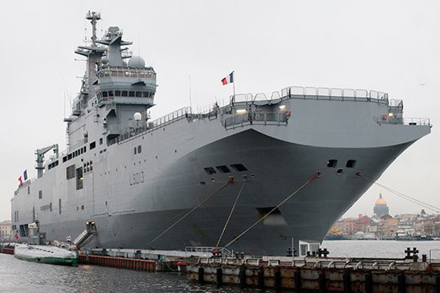 Egypt Agrees to Buy French Mistral Ships