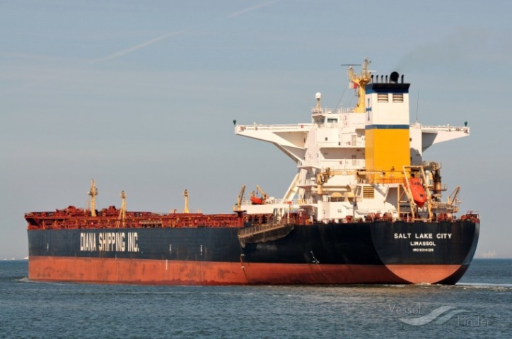 Diana Shipping signs time charter contract for mv Salt Lake City with Cargill