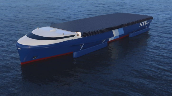 NYK Promotes Decarbonization through Exploratory Design of NYK Super Eco Ship 2050
