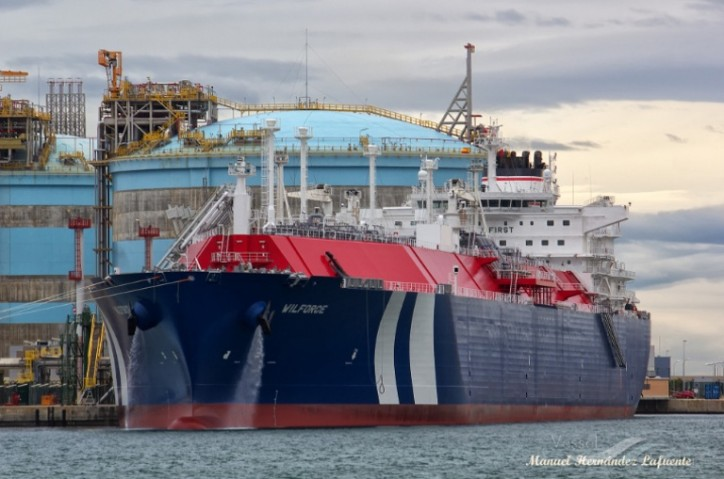 Awilco LNG ASA announces a charter contract for TFDE WilForce