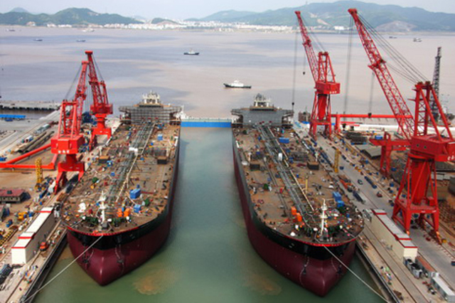 COSCO (Zhoushan) Shipyard delivers a 111,000 DWT tanker FRONT OCELOT