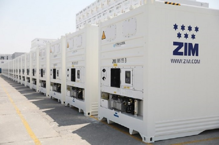 ZIM Commissioned Advanced New ZIMonitor Refrigerated Containers
