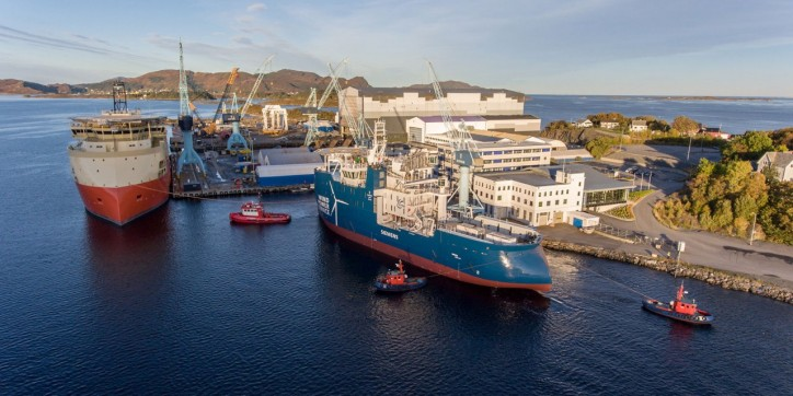 Spotted: Launch Of The Next SOV For BS Offshore (Video)