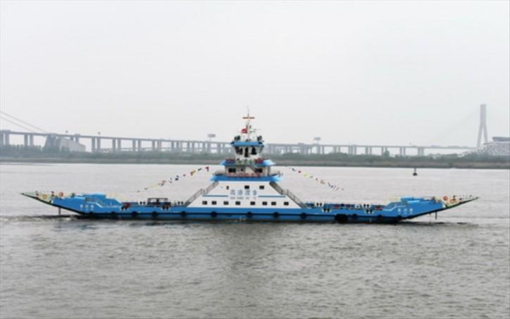 Jiangsu Zhenjiang Shipyard delivers ferry boat GAO GANG DU9