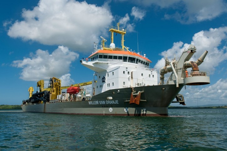 BOSKALIS lowest bidder for Elbe deepening project in Germany