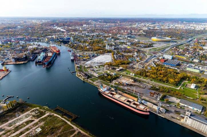 Port of Gdansk with a historic annual record