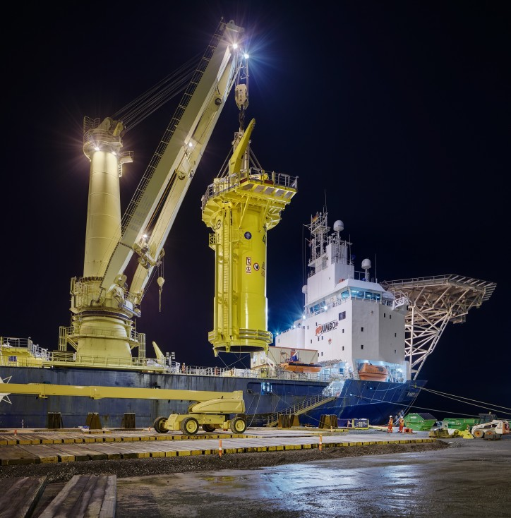 Jumbo completes project for the Arkona Offshore Wind farm (Video)
