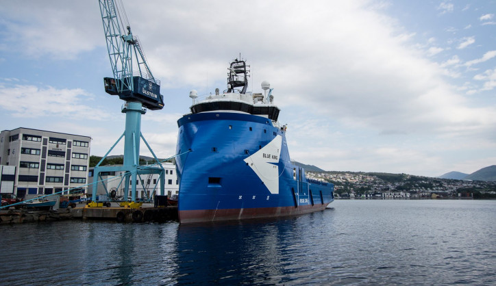 Sverre Farstad & Co has taken over the Blue King from Ulstein