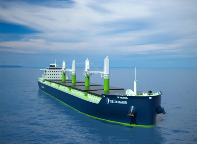 Deltamarin and other industry leaders join forces in LNG-powered bulk carrier design