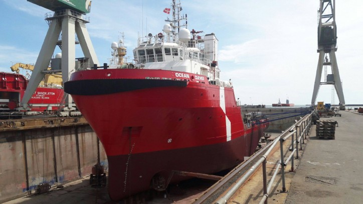 New Relief Vessel Joins Atlantic Offshore's Fleet
