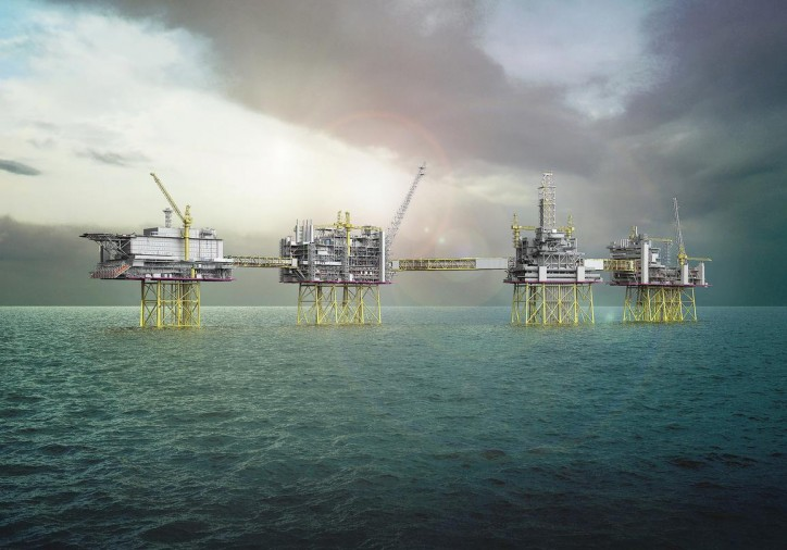 Steel cut for Johan Sverdrup drilling platform