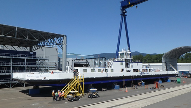 BC Ferries names the world's longest cable ferry