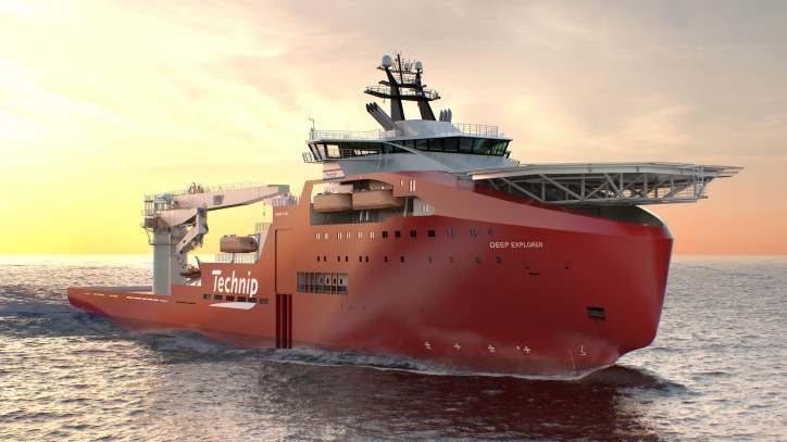 Technip introduces new diving support vessel Deep Explorer
