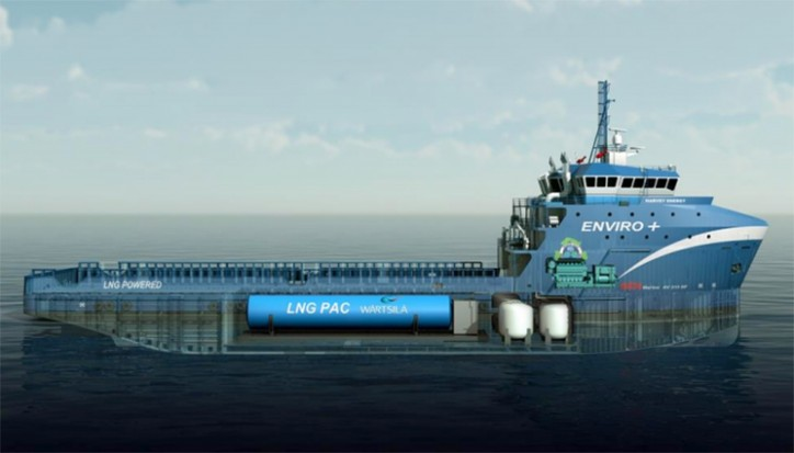 Harvey Energy bunkering vessel
