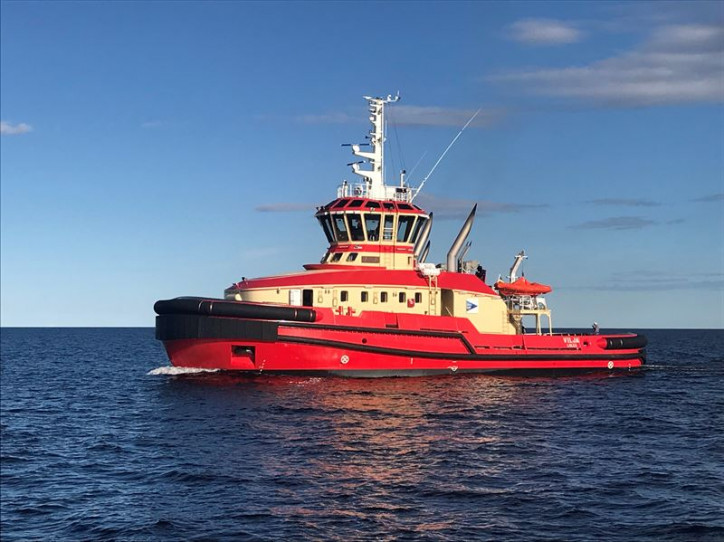 Delivery of first vessel with Wärtsilä HY hybrid technology marks new era in shipping