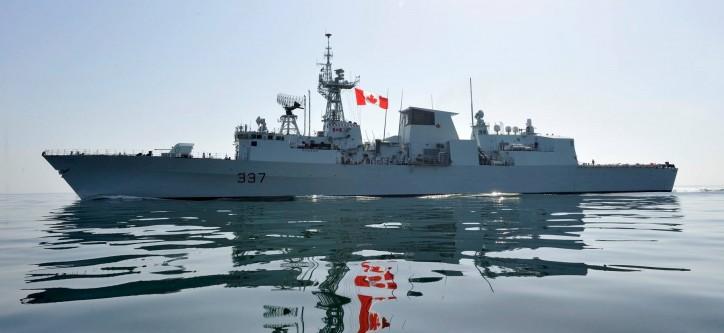 Halifax Shipyard celebrates handover of HMCS Fredericton