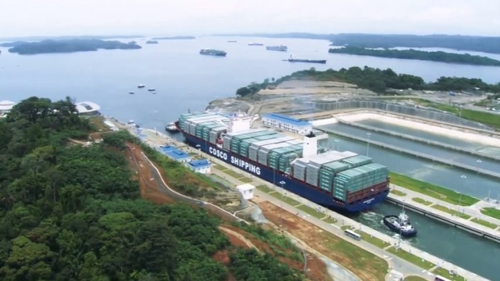 More than 60 Vessels Transit the Expanded Panama Canal Since the Inauguration (Video)