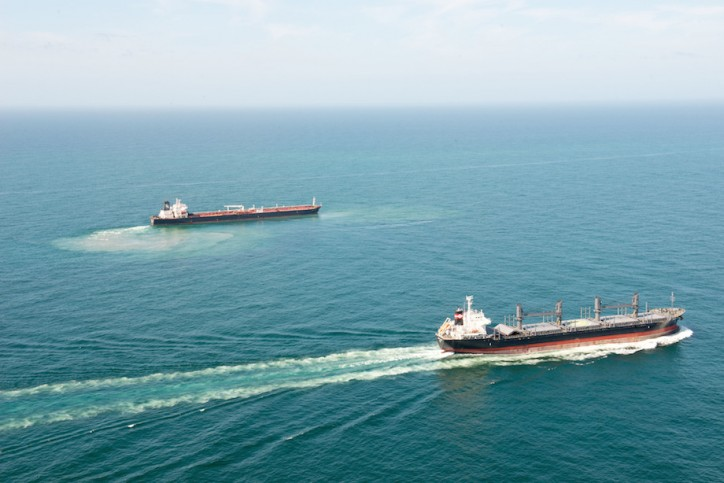 Grounded Oil Tanker ship SN Federica off Texas has been Refloated