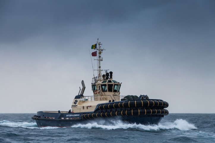 Damen ASD Tug 3212 'Svitzer Glenrock' delivered to Svitzer Australia (Video)